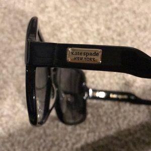 kate spade Accessories - Kate Spade Lorna black sunglasses